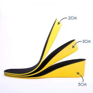 רפידות גובה 2 סנטימטר – מחומר איכותי לנוחות מקסימאלית
